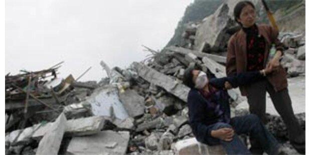 Starkes Nachbeben erschütterte Südwestchina