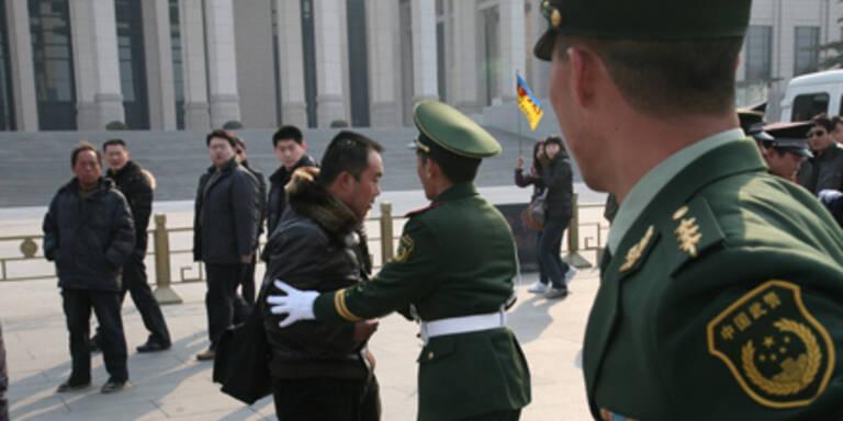 """China geht gegen """"Jasmin-Proteste"""" vor"""