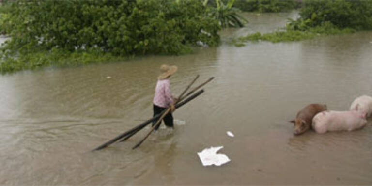 Land unter in China