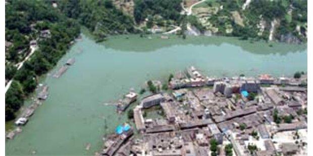 Damm in China droht nicht mehr zu brechen