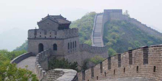 Dorf schützt sich mit Mega-Mauer