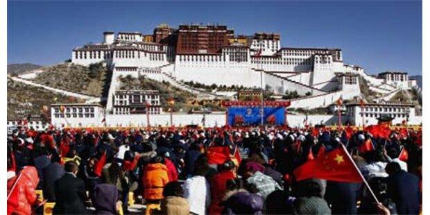 China feiert 50 Jahre Befreiung in Tibet