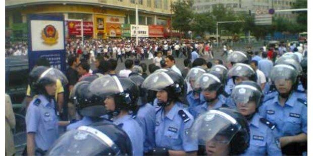 Gewalttätige Ausschreitungen in China