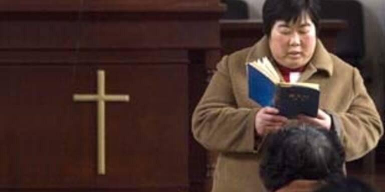 Christen-Verfolgung in China