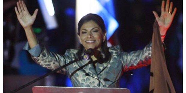 Costa Rica erhält erstmals Präsidentin