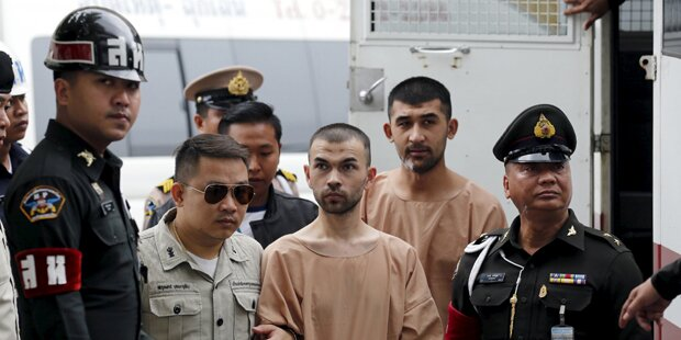 Anschlag auf Schrein: Chinesen vor Gericht