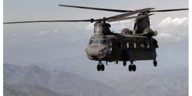 Millionen-Hubschrauber vergammeln in GB
