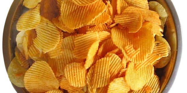Kartoffelchips sind richtige Dickmacher