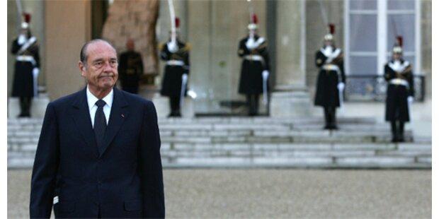 Chirac verblüfft mit Atomaussagen
