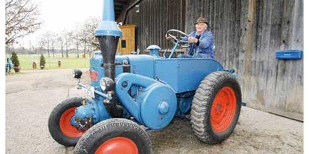 Traktor soll mit 104 km/h gerast sein