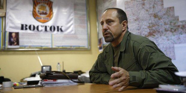 Rebellen-Kommandant: Wir hatten BUK-Raketen