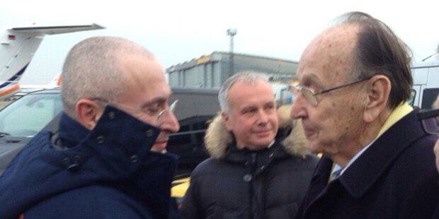 Putin-Gegner Chodorkowski ist frei
