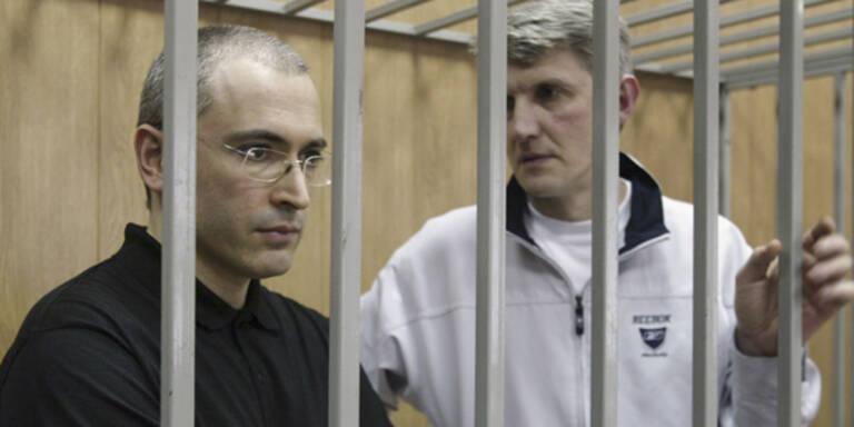 Russland lässt auch Lebedew frei