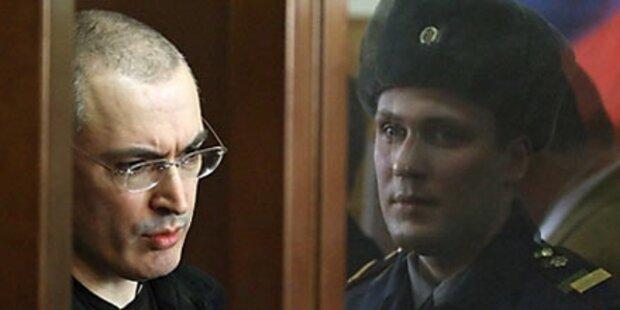 Berufung gegen Chodorkowski-Urteil eingelegt