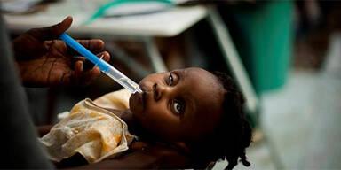 Zehn Tote bei neuem Cholera-Ausbruch