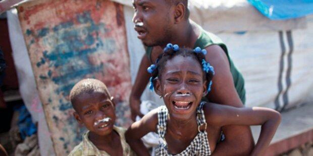 Cholera in Haiti - 1.100 Tote klagen an