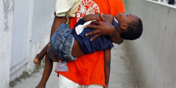 Zahl der Cholera-Opfer in Haiti steigt