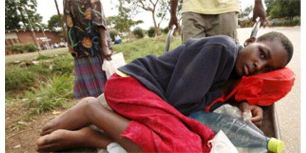 Erste Cholera-Fälle auch in Südafrika
