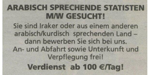 Die US-Armee sucht Araber in Österreich
