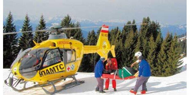 Jeden Tag bis zu 100 verletzte Skifahrer