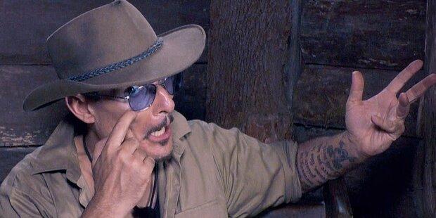 Dschungel: Currywurstmann rastet wegen Klo aus