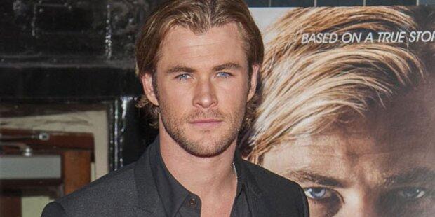 Chris Hemsworth: Vater & Superheld