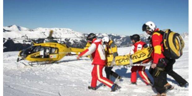 Wieder schwere Skiunfälle in OÖ