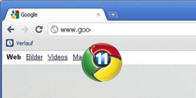 Chrome 11 kommt mit Spracheingabe für PC