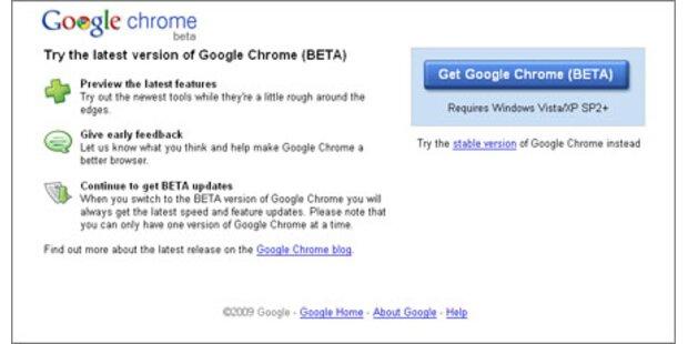 Beta-Version des Browsers ist verfügbar