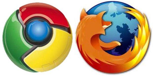Firefox & Chrome mit neuem Tracking-Stopper