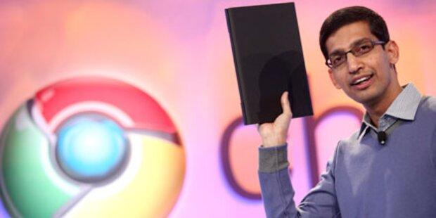 Google zeigt sein Chrome OS-Notebook