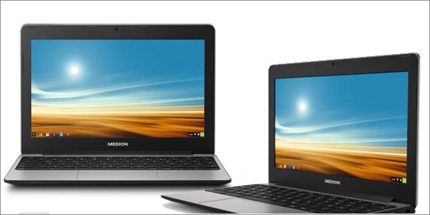 Medion greift mit Chromebook an