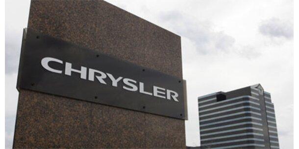 Chrysler unmittelbar vor Insolvenz