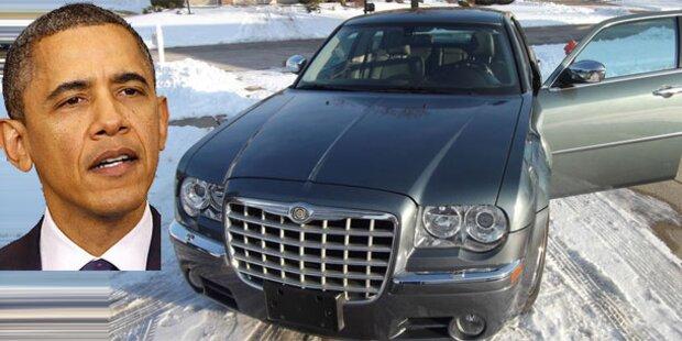 Barak Obamas Chrysler 300C auf eBay