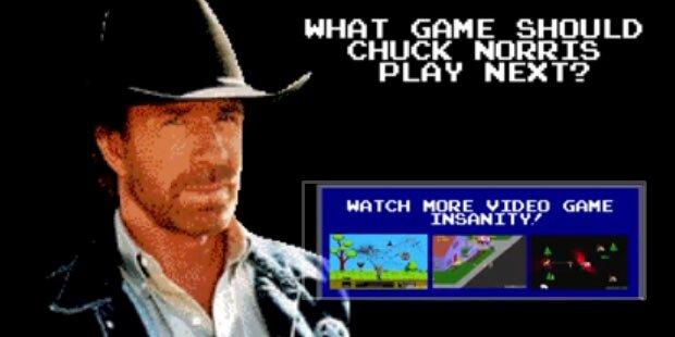 Chuck Norris mischt Super Mario, Tetris & Co. auf