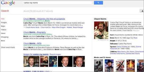 39e0f044cd4e78 Genialer Google-Gag mit Chuck Norris-Witzen