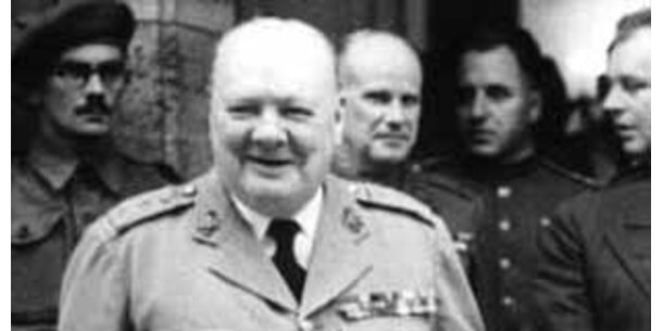 Hochzeitsfotos von Winston Churchill gesucht