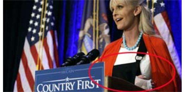 Cindy McCain verletzte sich beim Händeschütteln