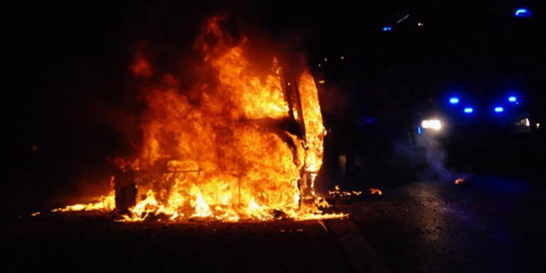 Feuer-Inferno auf der A2