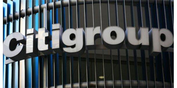 Citigroup benötigt 10 Milliarden Dollar