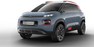 Citroen zeigt ein neues Mini-SUV