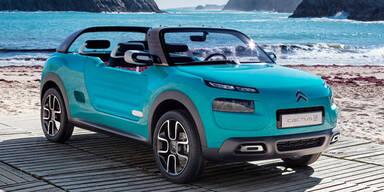 Citroën zeigt den Cactus als Cabrio
