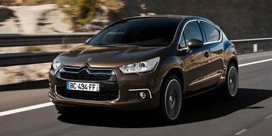 Citroën DS4 HDi 165 mit Automatik verfügbar