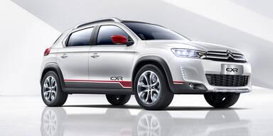 Citroen zeigt Kompakt-SUV-Studie CX-R