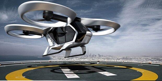 In Bayern fliegen bald Taxi-Drohnen