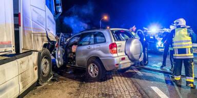 Fahrer tot