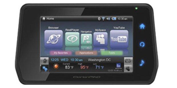 GPS-Navigation mit mobilem Internet