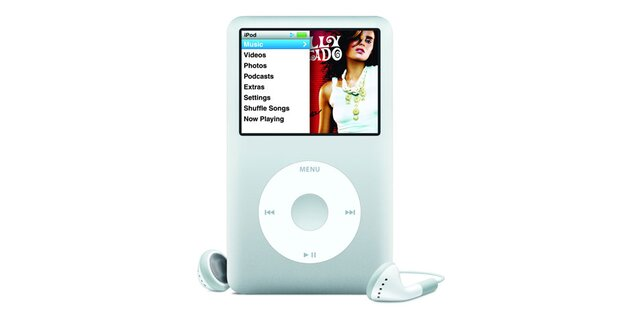 iPod Classic mit 160 GB Kapazität