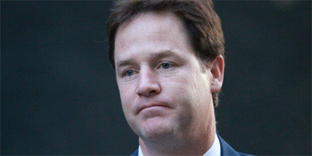 Desaster für britische Liberale