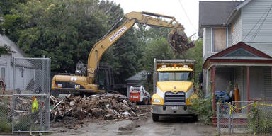 Horrorhaus von Cleveland abgerissen